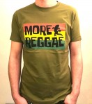 T-Shirt - More Reggae, oliv