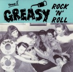 LP - VA - Greasy Rock and Roll Vol. 5