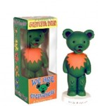 Wackelfigur - Greatful Dead Bear - green