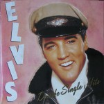 LP - Elvis Presley - Danske Single Hits
