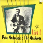 LP - Pete Anderson & The Archives - Live!