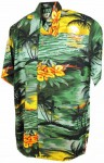 Hawaii - Shirt - Sunset Green