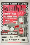Poster - Rockabilly Day 24. August 2003, Belgien