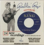 CD - Ray Campi - Favorite King Country Stars