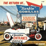 CD - Surfin' Gorillas - The Return Of