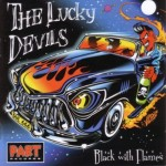 CD - Lucky Devils - Black With Flames