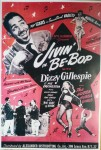 Poster DIN A3 - Jivin In Be Bop With Dizzy Gillespie