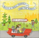 CD - Rock'n'Roll Monkey & The Robots - Back To Beatsville