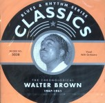 CD - Walter Brown - 1947 - 1951 The chronological classics