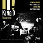 10inch - VA - King D And The Royals Of Rhythm - The New! Attention! - Split Album