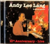 CD - Andy Lee Lang - 10th Anniversary - Live