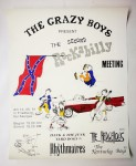 Poster - Crazy Boys 2nd Rockabilly Meeting Saulgau