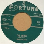 Single - Eddie Kirk - The Grunt / Every Hour, Every Minute