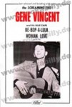 DIN A3 Poster - Gene Vincent - Woman Love, Be Bop A Lula