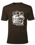 T-Shirt - Busters - SKA AGAINST RACISM, braun M