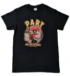 T-Shirt - Part Records Rooster, Black