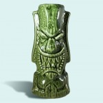 Tiki Mug - Pray for Surf, Green