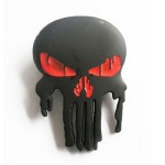 Gürtelschnalle - Gothic Emo Pirate Skull