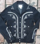Vintage Gaberdine Jacket Men black