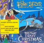 CD - Brian Orchestra Setzer - Dig That Crazy Christmas