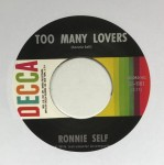 Single - Ronnie Self - Big Town / Too Many Lovers