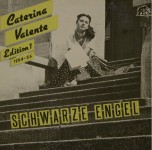 LP - Caterina Valente - Schwarze Engel (Edition 1, 1954-55)