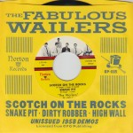 Single - Wailers - Scotch On The Rocks - Snake Pit , Dirty Robber +2