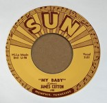 Single - James Cotton - My Baby / Straighten Up Baby