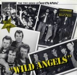 LP - Wild Angels And Shotgun - The two Sides of Wild Bob Burgos