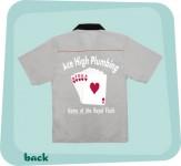 Bowlingshirt - Ace High Plumbing