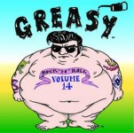 LP - VA - Greasy Rock And Roll Vol. 14