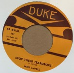 Single - Miss Lavell - Teen-Age Love / Stop These Teardrops