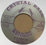 Single - Billy & The Moonlighters - Little Indian Girl / You Made Me Cry (*Reverse Labels)