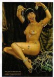 Poster DIN A3 - Bettie Page - Mink, Jewels