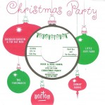 Single - VA - CHRISTMAS PARTY EP (red wax!) Little Joey Farr- Rock & Roll Santa , Brendan Hanlon & The Bat Men - Christmas Party , Tornados- Santa Claus , Donny Burns- Cool Yule
