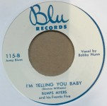 Single - Bumps Myers - I?m Clappin? And Shoutin? / I?m Telling You Baby