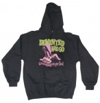 Sweatshirt - Demented Are Go - Gonna Stomp On Yer Face