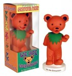 Wackelfigur - Greatful Dead Bear - orange