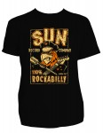 T-shirt Steady - Sun Records 110% Rockabilly