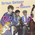CD - Brian Setzer & The Tomcats - Early Live Recordings - Rip It Up - Vol. 4