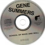 CD - Gene Summers - School Of Rock And Roll