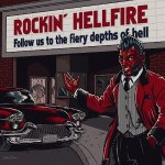CD - Rockin' Hellfire - Follow Us To The Fiery Depths Of Hell
