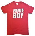 T-Shirt - Busters - RUDE BOY, rot