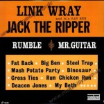 LP - Link Wray - Jack The Ripper