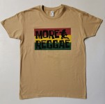 T-Shirt - More Reggae - sand-colored