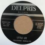 Single - Nadine Renaye - I Like The Way You Walk / Little Lee