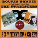 """Single - Rockin Bonnie & The Starliters - Cause Of You/Two Cats  (2x 7"""" + CD)"""