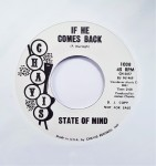 Single - State Of Mind - Move / If He Comes Back