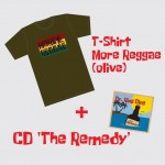 Bundle 'T-Shirt & CD I - MRO' oliv