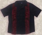 Kids - Jungenhemd - My Red Leo Striped Shirt